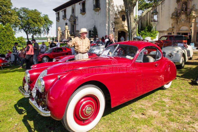 Klassieke Jaguar stock foto's