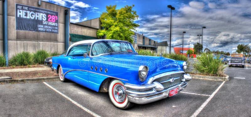 Klassieke jaren '50 Amerikaanse auto royalty-vrije stock foto