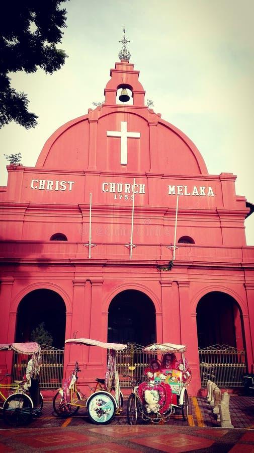 Klassieke kerk stock foto