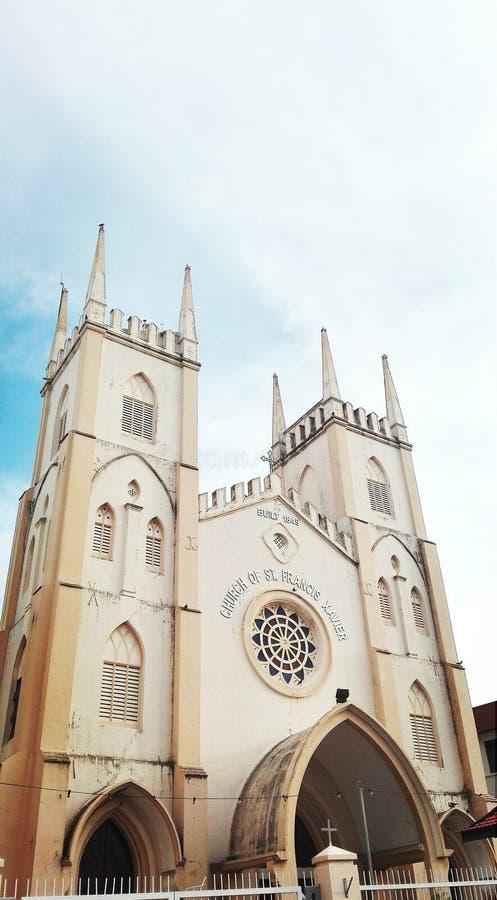 Klassieke kerk stock fotografie