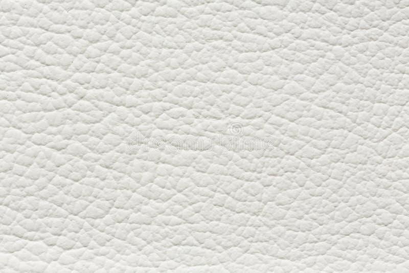 Klassieke leertextuur in witte kleur voor uw binnenland stock afbeeldingen