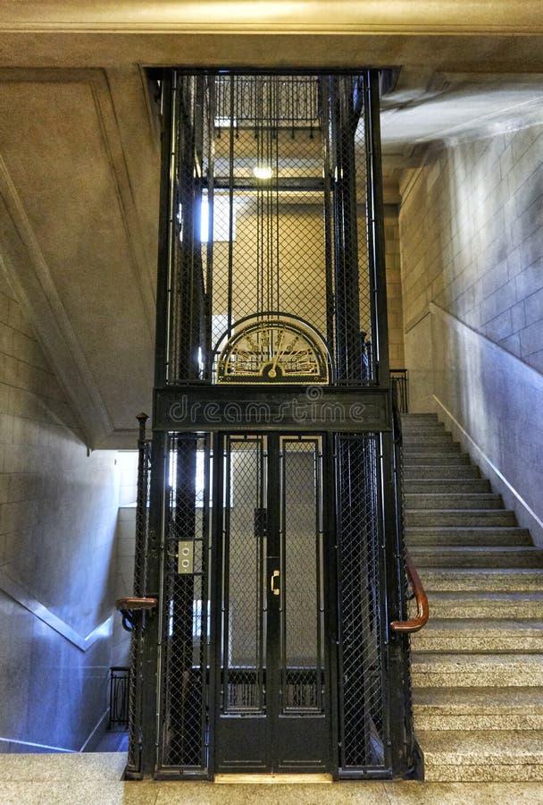 Klassieke lift royalty-vrije stock afbeeldingen