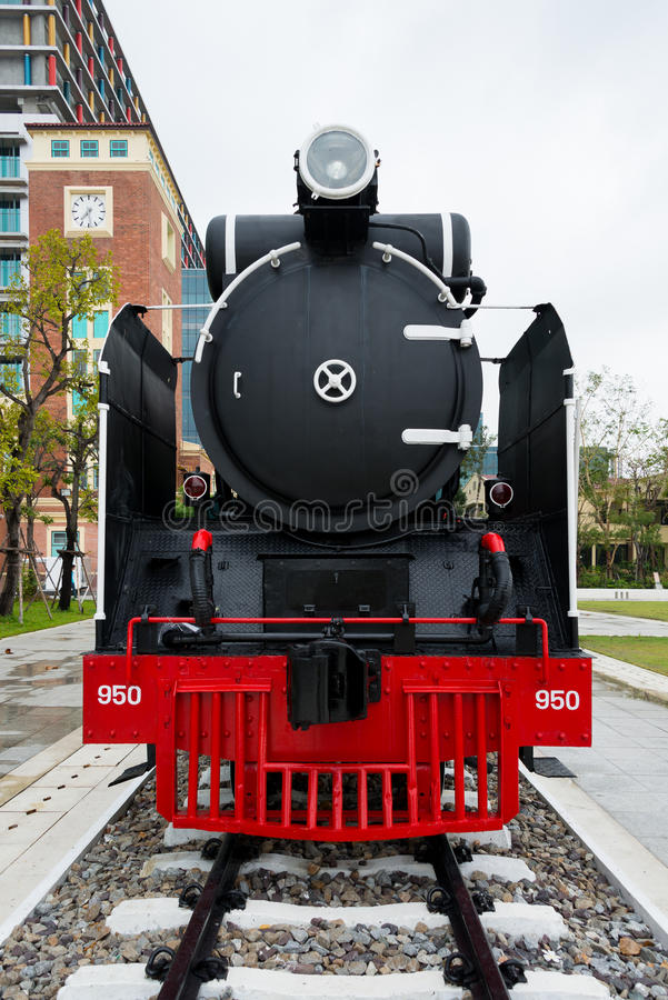 Klassieke Locomotief royalty-vrije stock afbeeldingen