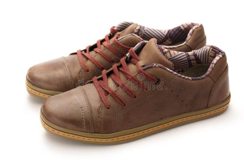 Klassieke mannelijke schoenen stock afbeeldingen
