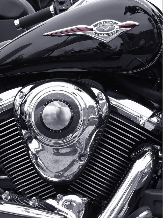 Klassieke motor stock foto's