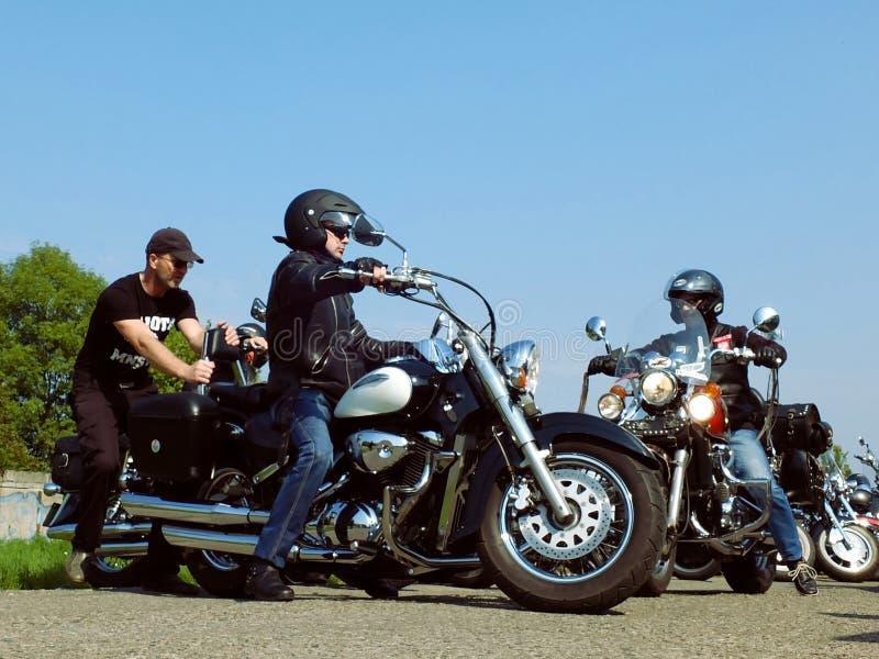 Klassieke Motorfietsen royalty-vrije stock afbeeldingen