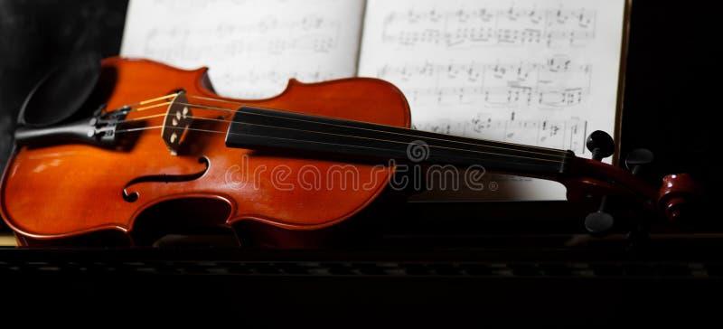 Klassieke muziek stock foto