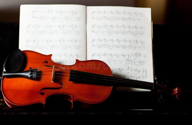 Klassieke muziek stock fotografie