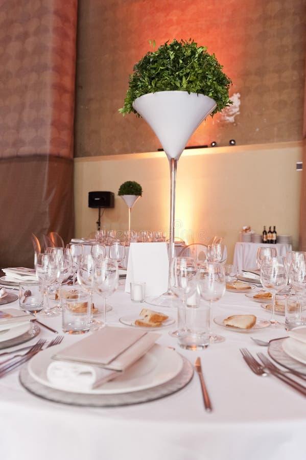 Klassieke omringend voor het banqueting royalty-vrije stock fotografie