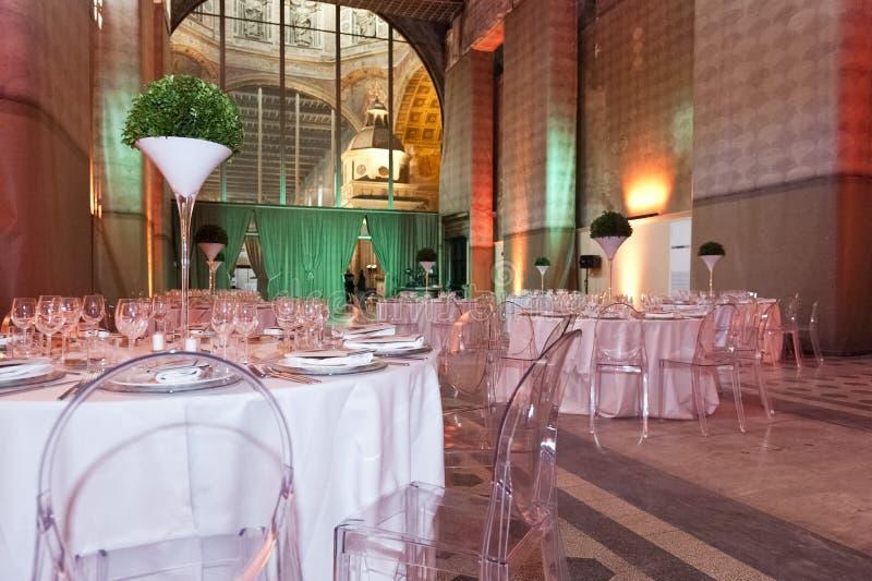 Klassieke omringend voor het banqueting royalty-vrije stock foto's