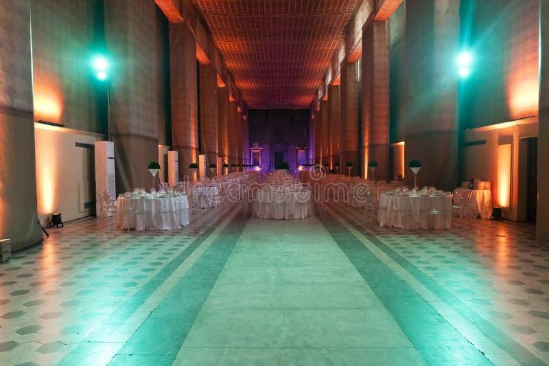 Klassieke omringend voor het banqueting stock fotografie