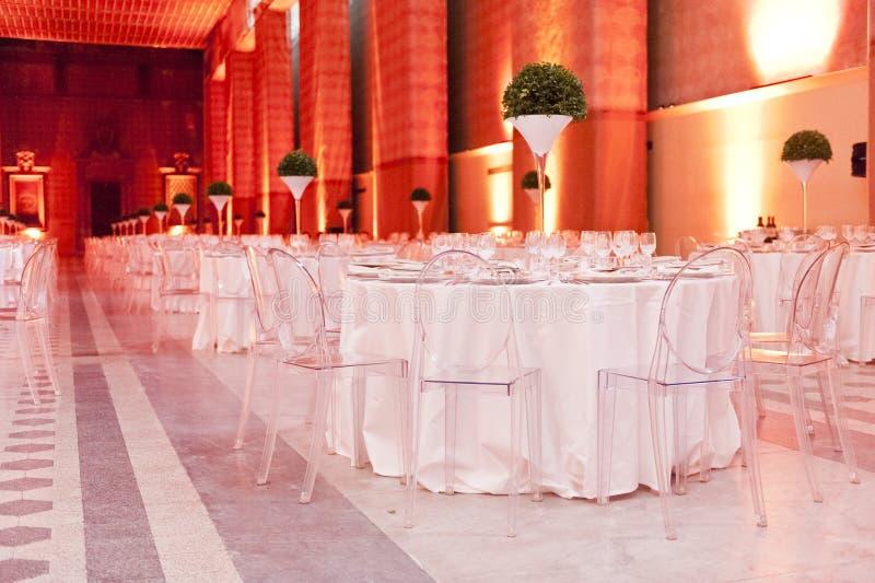 Klassieke omringend voor het banqueting royalty-vrije stock foto