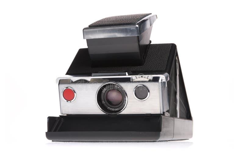 Klassieke Onmiddellijke Polaroid- Camera stock foto