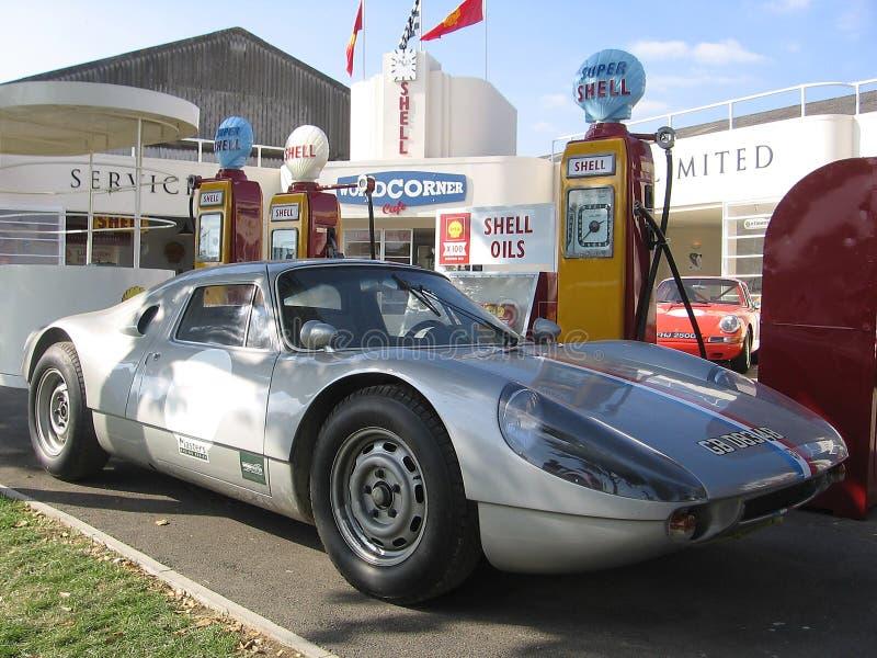 Klassieke raceauto bij de Heropleving van Goodwood van 2008 stock foto's