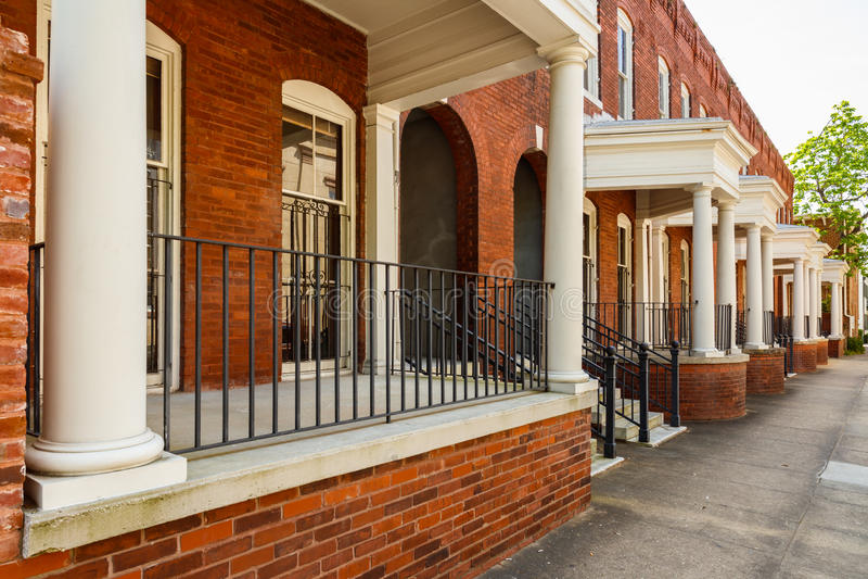 Klassieke Savannah Architecture royalty-vrije stock foto