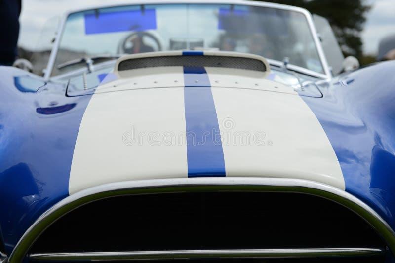 Klassieke sportwagen stock foto's