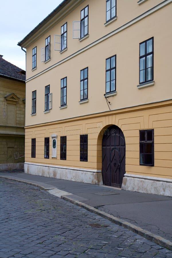 Klassieke straat royalty-vrije stock afbeelding