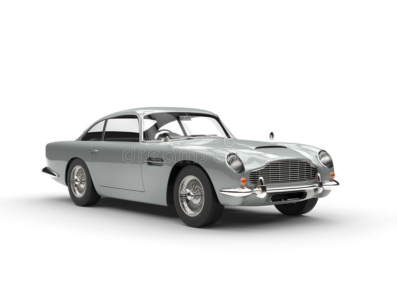 klassieke uitstekende auto stock illustratie