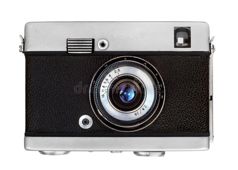 Klassieke vooraanzichtcamera stock afbeelding
