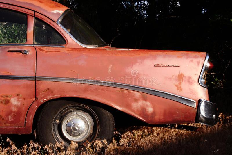 Klassiker 56 Chevrolet lizenzfreie stockbilder