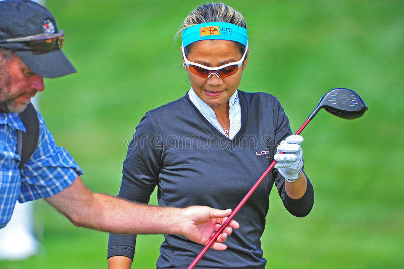 Klassiker des Jenniferrosales-LPGA Safeway stockfoto
