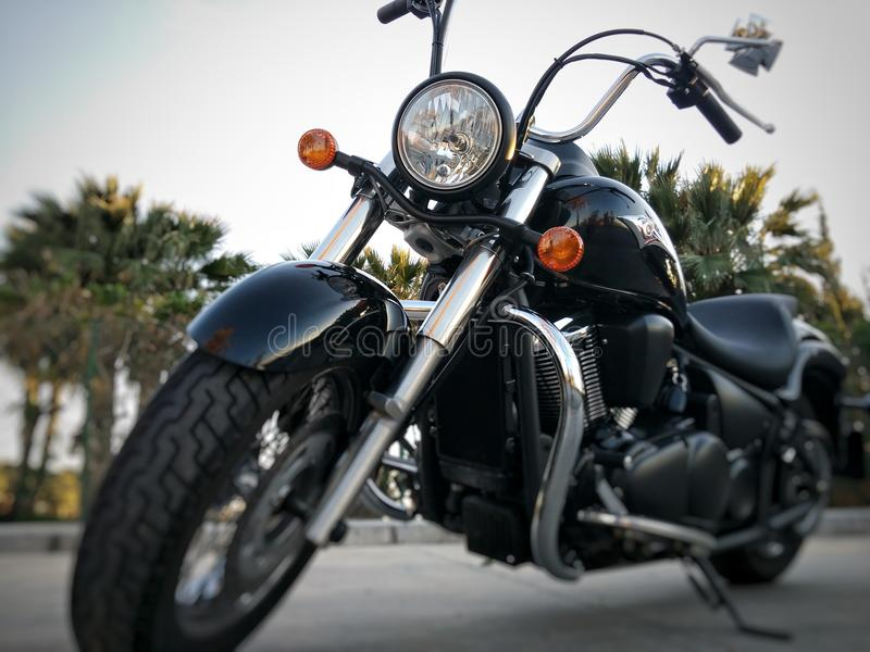 Klassiker Kawasaki Vertikalnavigation 900 lizenzfreies stockbild