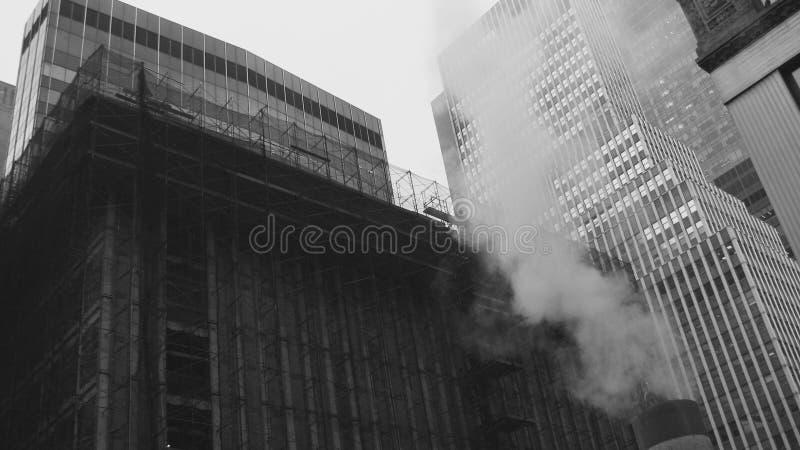 Klassiker som skjutas av New York City arkivbild