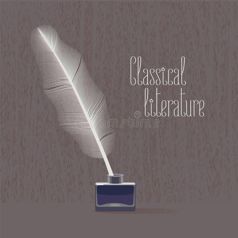 Klassiker vektorillustration för klassisk litteratur vektor illustrationer