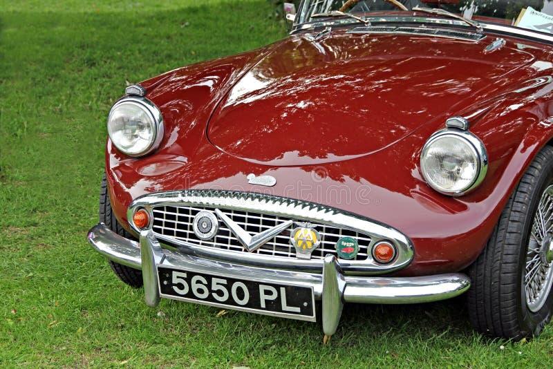 Klassikerauto des Daimler Pfeiles sp250 lizenzfreie stockfotos