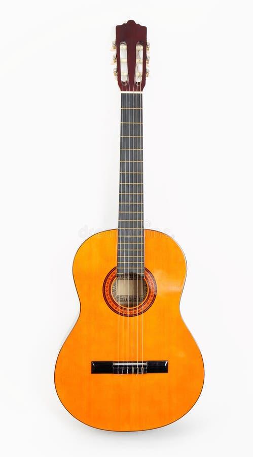 Klassische Akustikgitarre stockfoto