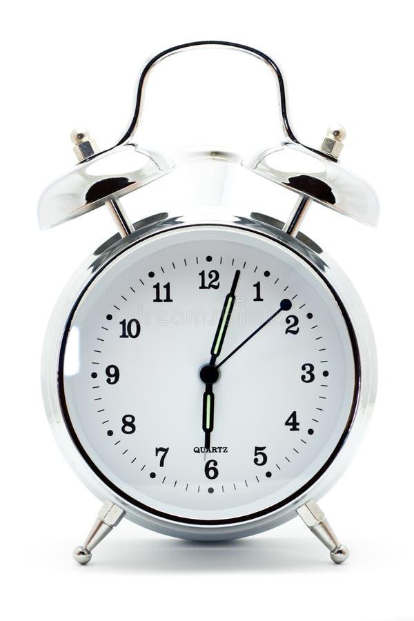Klassische Alarmuhr lizenzfreie stockfotos