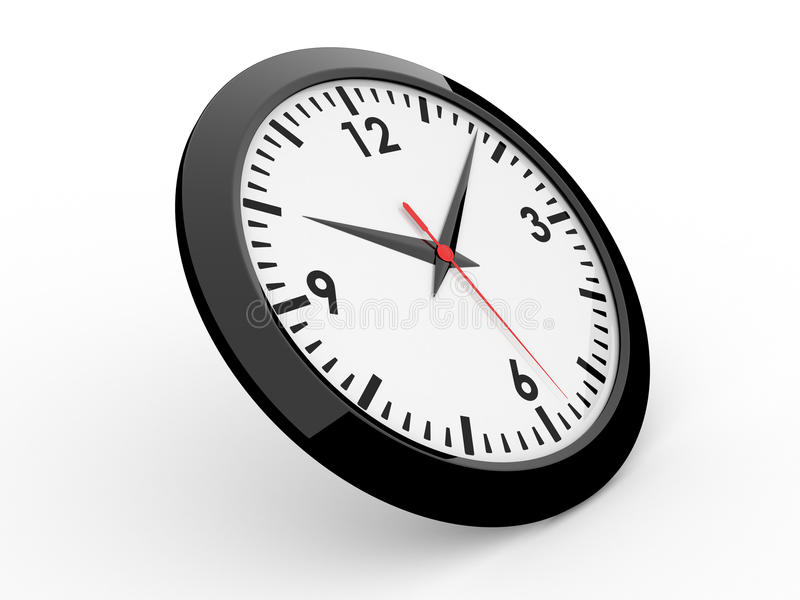 Klassische Alarmuhr vektor abbildung