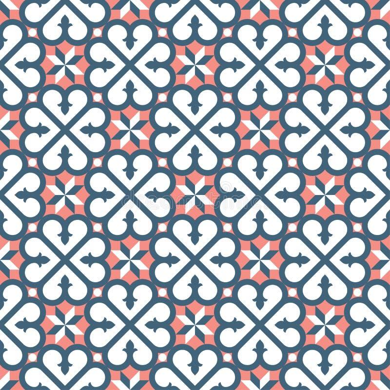 Klassische alte europäische barocke Trachtenmode des Musters vektor abbildung