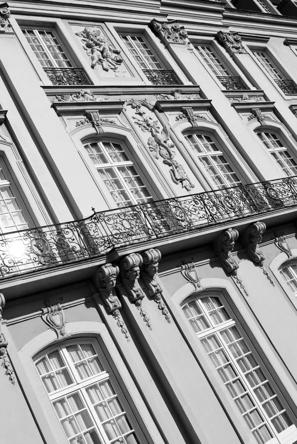 Klassische Architektur stockbilder