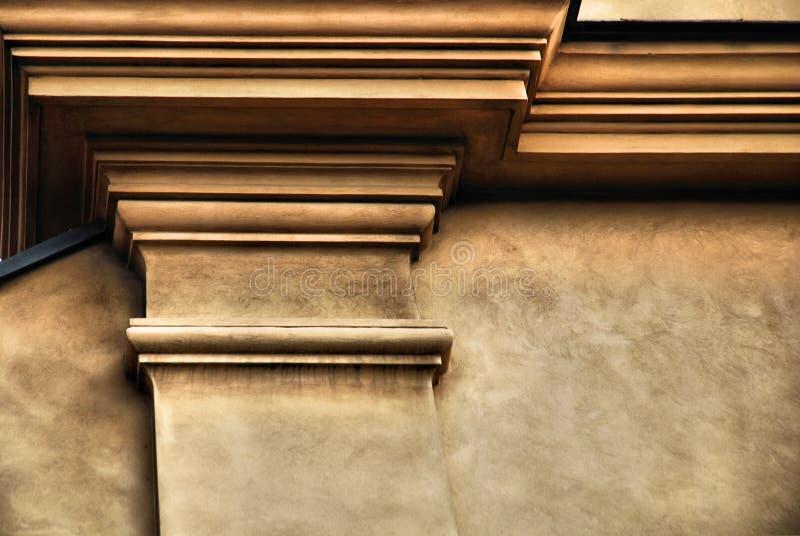 Klassische Architekturspalte lizenzfreie stockbilder