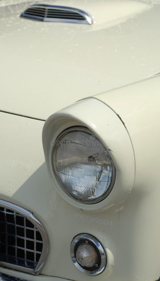 Klassische Auto-Vorderseite stockfotografie