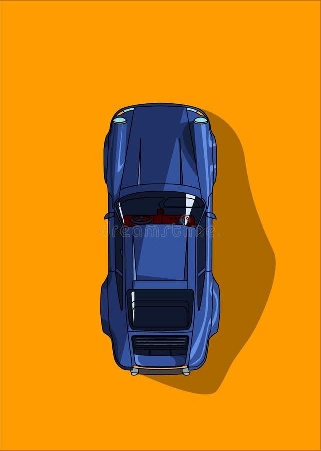 Klassische Autos stock abbildung