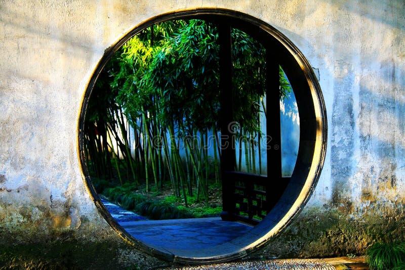 Klassische Gärten Chinese-Suzhous lizenzfreies stockfoto