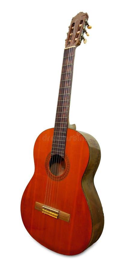 Klassische Gitarre stockfotos