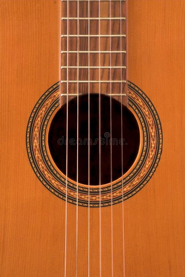 Klassische Gitarre stockfoto