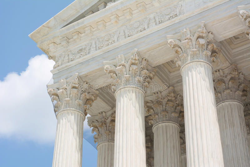 Klassische griechische Architektur stockfotografie
