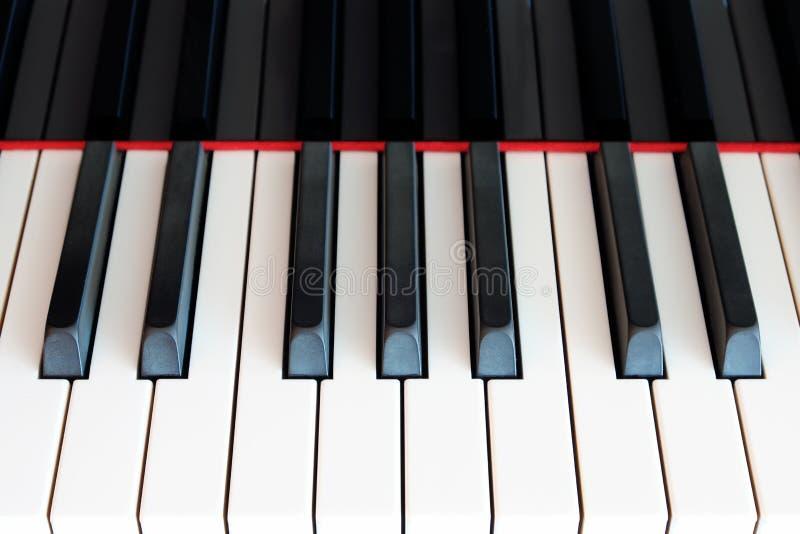 Klassische Klaviertastatur stockbild