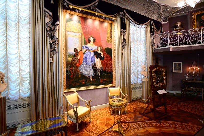 Klassische Kunst an Zuständen und an Museum Hillwood lizenzfreies stockfoto