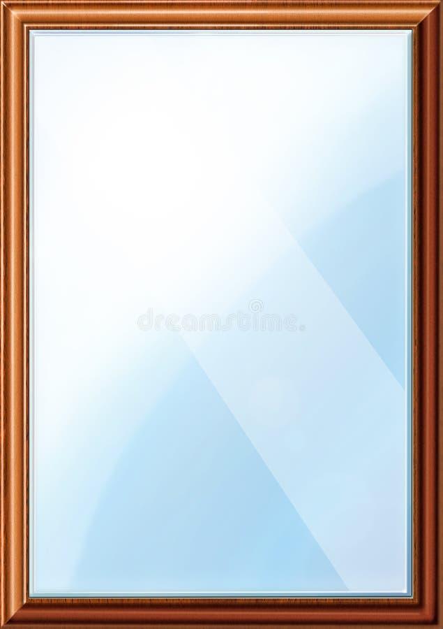 Klassische Spiegel klassische spiegel abbildung stock abbildung illustration holz