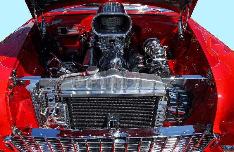 Klassischer Automotor stockfotografie