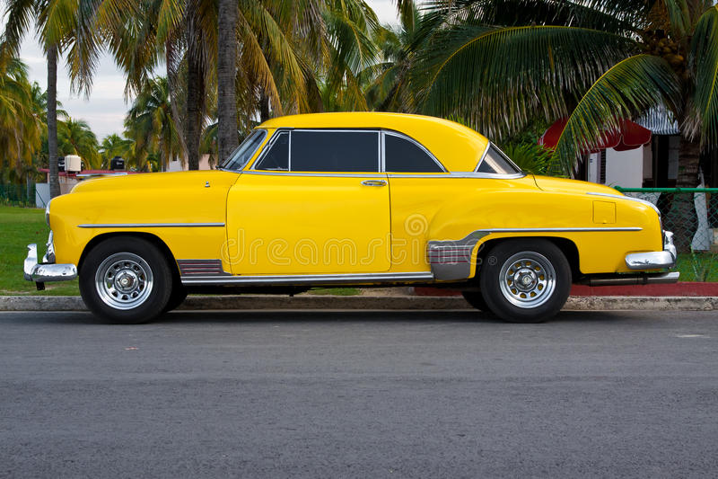 Klassischer Chevrolet in Havana stockfotografie
