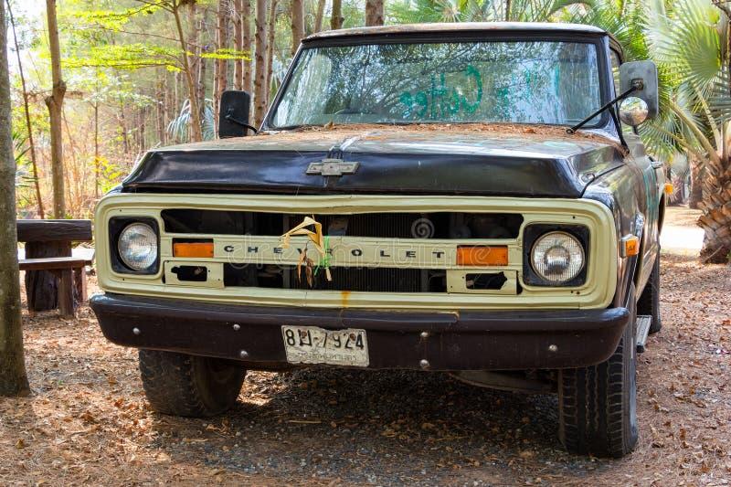 Klassischer Chevrolet-LKW lizenzfreie stockbilder