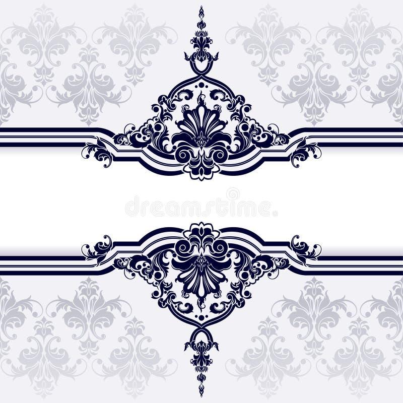 Klassischer Dekoration-und Tapeten-Hintergrund