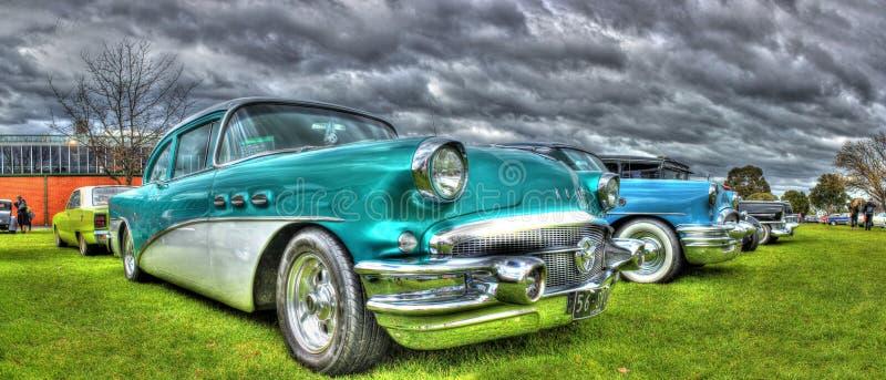 Klassischer fünfziger Jahre Amerikaner Buick lizenzfreies stockbild