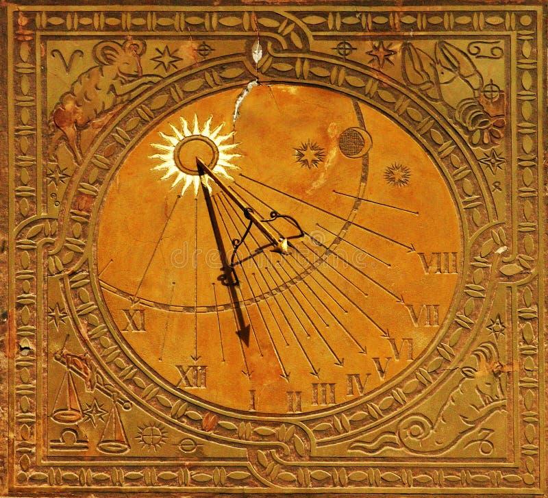 Klassischer Sonnevorwahlknopf in Warschau lizenzfreie stockbilder